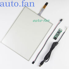 """12""""12.1 Inch 4 Wire Resistive Touch Screen Panel 260x200mm USB Control"""