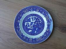 Vintage 1940s/1950s Swinnertons Azul y Blanca Placa de té de China-Viejo Sauce-en muy buena condición