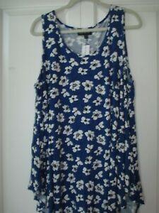 Swing Tanks for Women, Clothing, Plus Sizes, NIP, Prints, Lane Bryant ~~ NICE!!