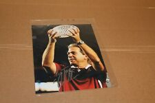 Nick Saban - Alabama Crimson Tide Football - Autograph Photo - 8x10