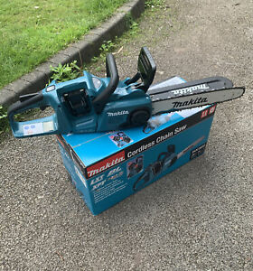 Makita DUC353Z 36V 14 Inch Brushless Chainsaw - Excellent Condition - Boxed