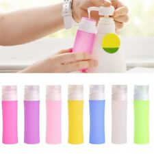 38/60/80ml Silicone Empty Travel Cosmetics Shampoo Bottle Container Travel Hot z