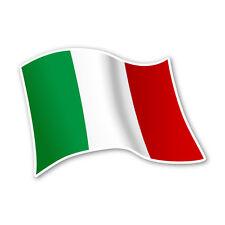 Italien Flagge Italy Autoaufkleber Sticker Fahne Aufkleber DRU 0069