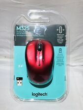 Logitech M325 Wireless Optical Mouse-Red Model : 910-002651