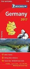 Alemania 2017 (Mapas National Michelin) por Michelin   Mapa Libro   9782067218581   N