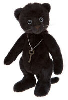 Panthea Minimo by Charlie Bears - limited edition black panther - MM175637