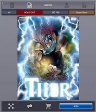 Topps Marvel Collect - Thorsday BETA RAY BILL Week #5 *Digital