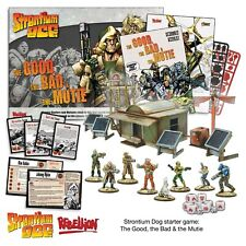 Warlord Games, Stontium Dog, The Good The Bad and the Mutie, Starter Set.