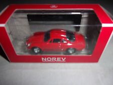 1/64 3-INCHES RENAULT ALPINE A110-ROUGE-1970-NOREV:319225C