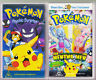 Pokemon the Movie Mew - Psychic Surprise LOT OF TWO VHS VIDEO TAPE VINTAGE