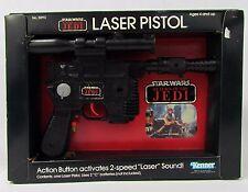 Vintage Star Wars Return of the Jedi ROTJ LASER PISTOL by Kenner Toy Gun w/ Box