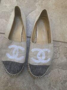 Chanel espadrilles, Size 39