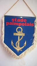 Vintage Fanion Stade Paimpolais Paimpol Bretagne  Football Foot 23 cm x 18 cm