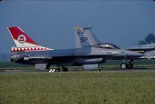 Original colour slide F-16A FA91 of 23 Sqdn. Belgian Air Force