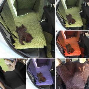 Pet Car Seat Cover Dog Safety Rear Back Seat Hammock Mat Protector Cushion Mat