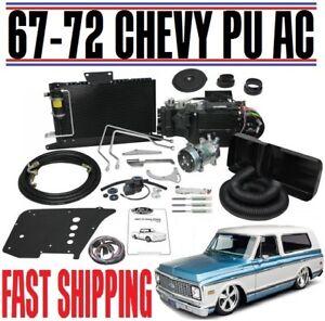 1967-72 Chevrolet GMC Pickup Blazer wo Factory Air SureFit Complete AC HEAT Kit