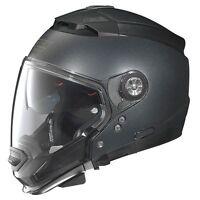 Casco Helmet NOLAN N44 N-44 EVO SPECIAL N-COM black GRAPHITE nero grafite