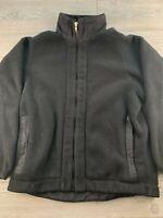 *Patagonia Synchilla Full Zip Fleece Jacket Women's SZ M Black