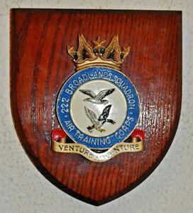 272 Broadlands Squadron Air Training Corps plaque crest shield ATC RAF Cadets