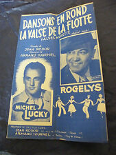 Partition Dansons en rond La valse de la flotte Michel Lucky Rogelys Music Sheet