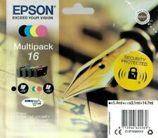 Genuine Epson 16 Fountain Pen T1626 Ink Multipack A