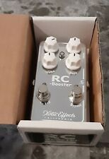 Xotic RC Booster V2 overdrive pedal