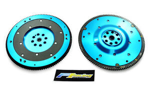 FX T6 ALUMINUM CLUTCH FLYWHEEL fits ACCORD PRELUDE ACURA CL 2.2L F22 F23 H22 H23