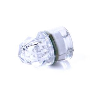 Fishing Light Flash LED Underwater Deep Drop Diamond Squid Strobe Bait Lure Lamp