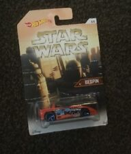 HOT WHEELS STAR WARS COLLECTION BESPIN RARE LONG CARD