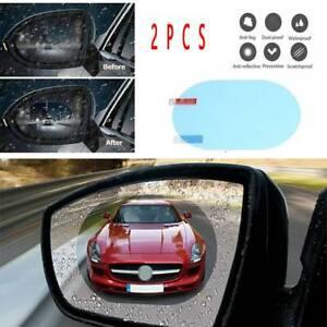 Car Rainproof Anti Fog Anti-glare Rearview Mirror Trim Film Cover Accessories
