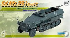 DRAGON German sd.kfz.251/1 Ausf. C Eastern Front 1942 1/72 FINISHED MODEL TRUCK