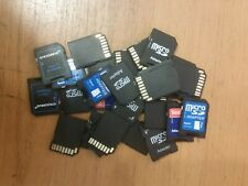 Micro SD HC SDHC Memory Card Adapter Adapters Reader Readers Random Brand Brands