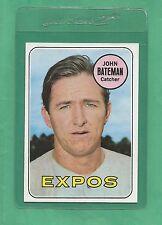 1969 Topps Montreal Expos John Bateman # 138 NM-MT Low Pop!!