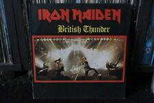 IRON MAIDEN  BRITISH THUNDER  ORIGINAL 19??  LP