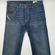 Diesel Lugger Wash 0070E W30 L34 blau Herren Designer Denim Jeans Hose Italien