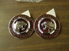 NOS OEM 1997 Mercury Cougar Roof Ornaments Emblem Pair 30th Anniversary Edition