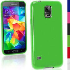 Custodie preformate/Copertine verde per Samsung Galaxy S5