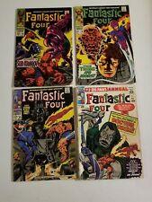 Fantastic Four Annual 2,76,78,80 Orgin Of Doctor Doom Reader Comics