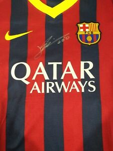 Lionel Messi Signed Jersey Shirt