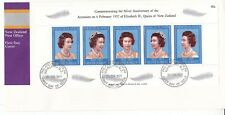 New Zealand 1977 Queen Elizabeth Silver Anniversary FDC Unaddressed VGC