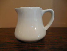 Vintage DELCO ATLANTIC CHINA White Creamer Heavy Weight Restaurant Ware EUC