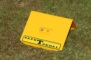 VW BEETLE ALL OLD MODELS SAFE T PEDAL VW SECURITY IN YELLOW LEFT HAND DRIVE