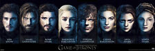 Game of the Thrones Characters Poster! Tyrion Robb Danenerys Jon New Never Hung