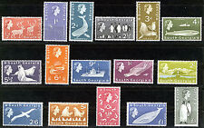 SOUTH GEORGIA 1963-69 DEFINITIVES SG1/16 MNH