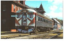 POSTCARD US TRAIN - BUDD RDC1 9057 - Canadian Pacific