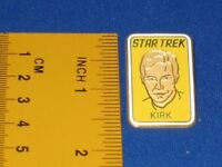 Star Trek Captain James T. Kirk Portrait Pin Badge STPIN312