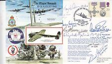 RAFA12b 50th Anniv Battle of Britain. 30-31 Aug 1940.Signed 8 Battle of Britain
