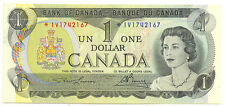 Bank of Canada 1973 $1 One Dollar Replacement UNC Stamped 1998 Edmonton CNA Show