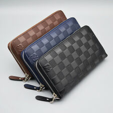 Womens Leather Wallet Credit Card Holder Purse Clutch Zipper Long Bag US STOCK