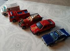 Hot Wheels Emergency Vehicles ~ Old #5 Fire truck, Police car, Ambulance, More